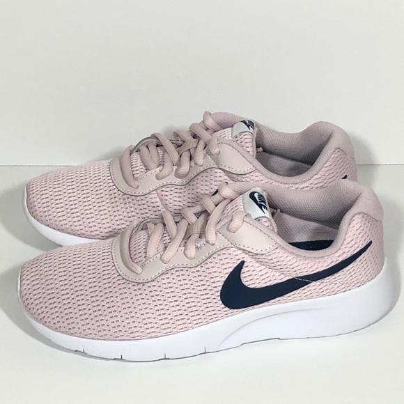 Pink Navy Tanjun Sneakers   Poshmark